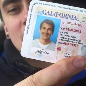 Buy an ID card to make your identity protected