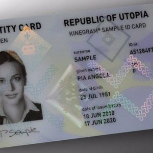 Order a fake ID to get a fresh start