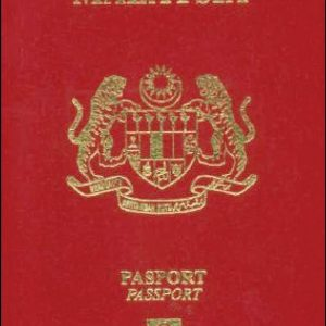Malaysian Passport for Sale