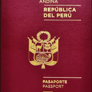 Peru Passport for Sale