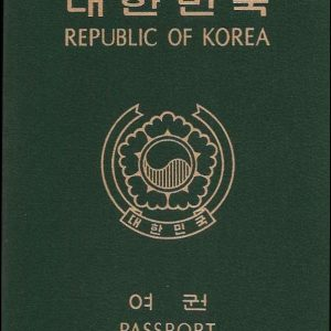 South Korea Passport for Sale