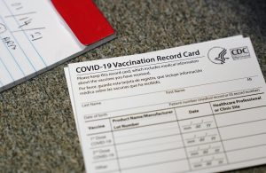 CDC vaccination card for sale